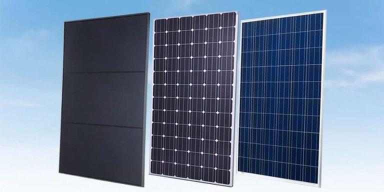 tipos de paneles solares para generar energía