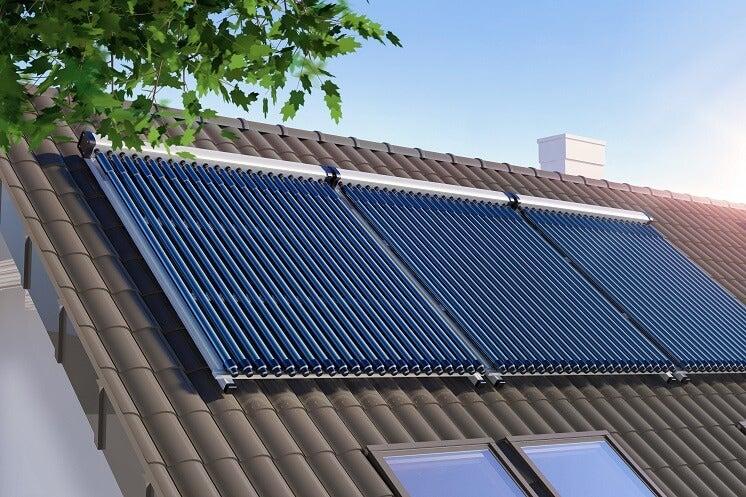 tipo de panel solar térmico