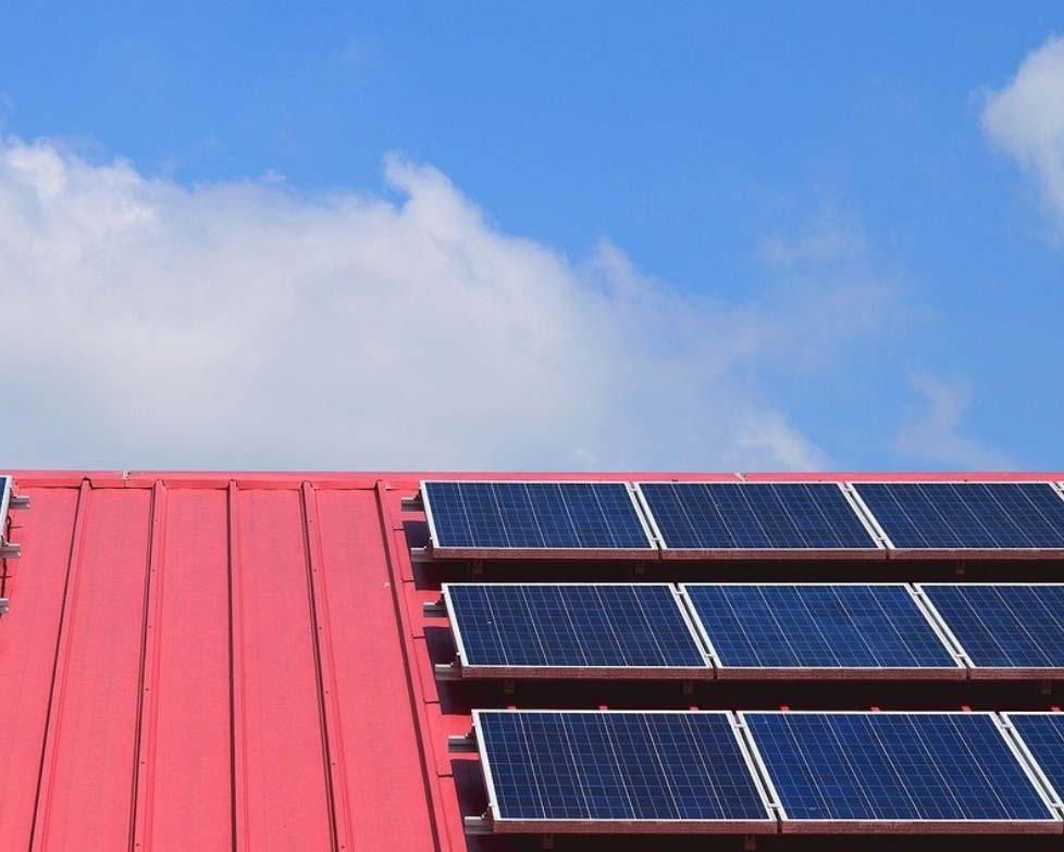 estructuras para paneles solares tejados fijacion