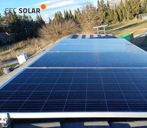 instal·lació-plaques solars-gualta-girona-aïllades