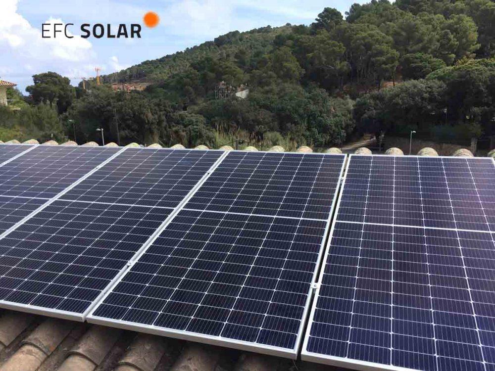 plaques solars fotovoltaiques a Begur girona