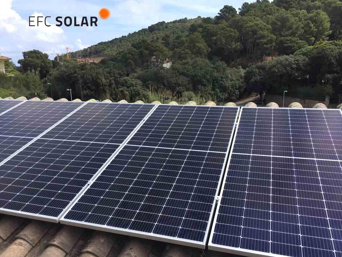 paneles solares fotovoltaicos begur girona