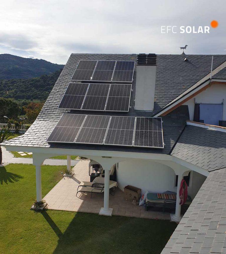 instal·lació de plaques solars a caldes de montbui barcelona efc