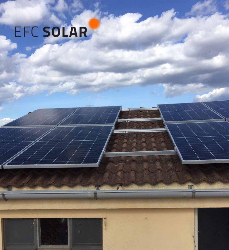 instal·lació de plaques solars a gelida - barcelona