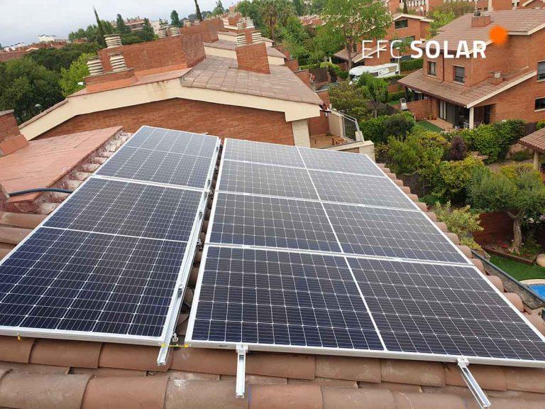 instal·lació de plaques solars a sant cugat barcelona