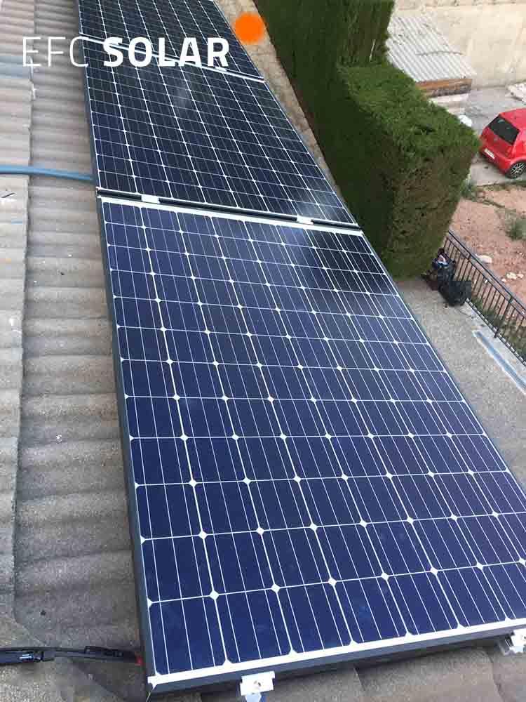 instalacion paneles solares corbera de llobregat barcelona energia solar