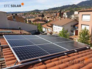 instal·lació de panells solars pèrgola torelló a barcelona