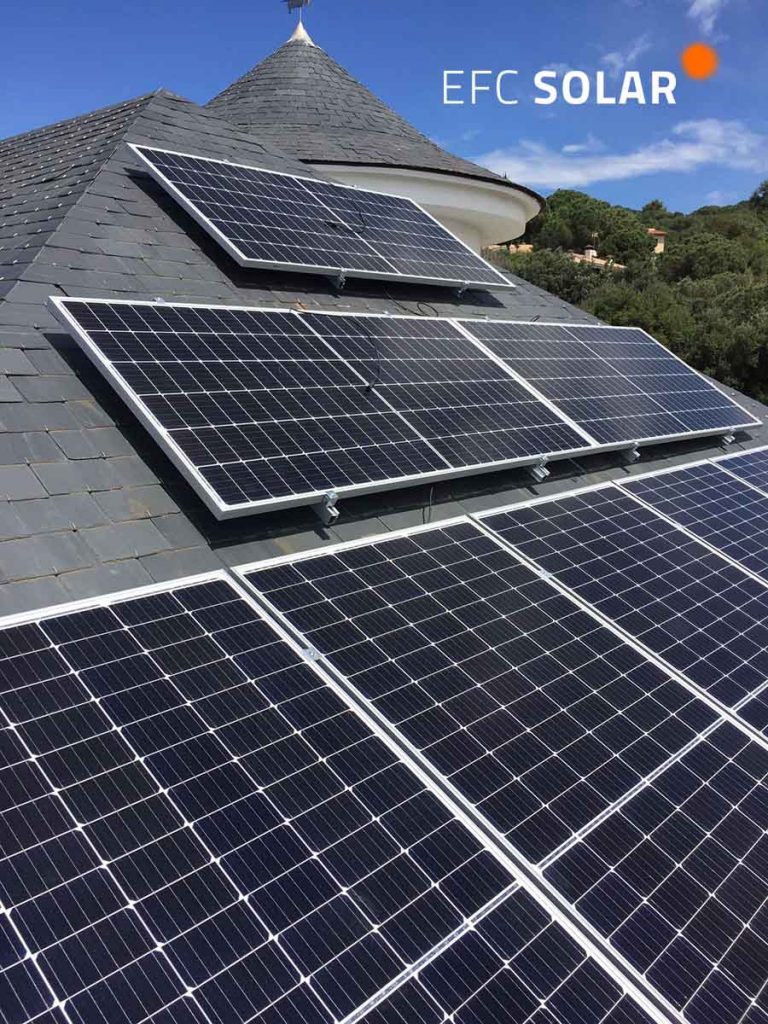 instalacion solar fotovoltaica caldes de montbui barcelona efc