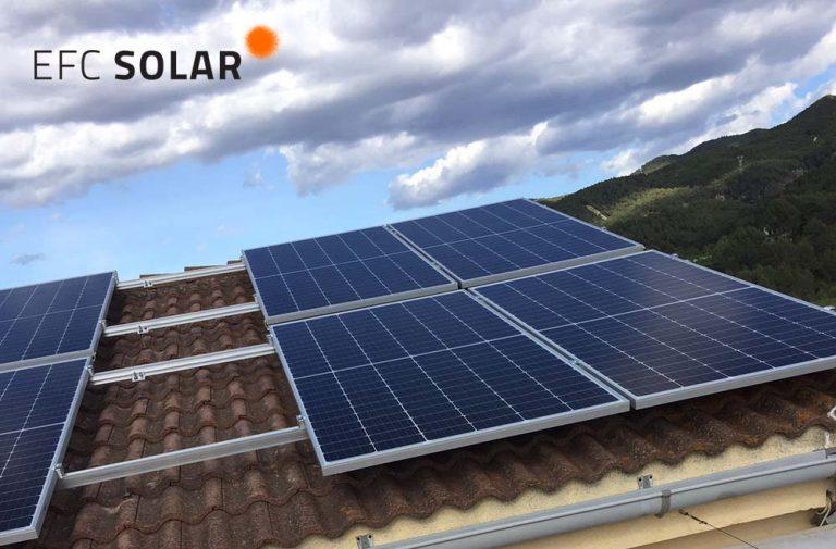 instal·lació solar i plaques solars a gelida barcelona