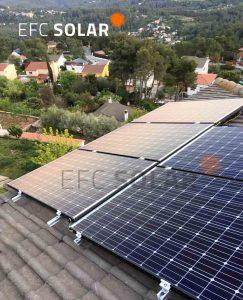 plaques solars a corbera de llobregat barcelona energia solar fotovoltaica