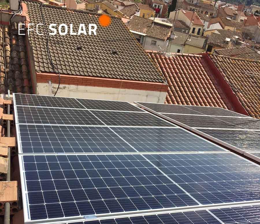 panells solars i energia solar a Olesa de Montserrat