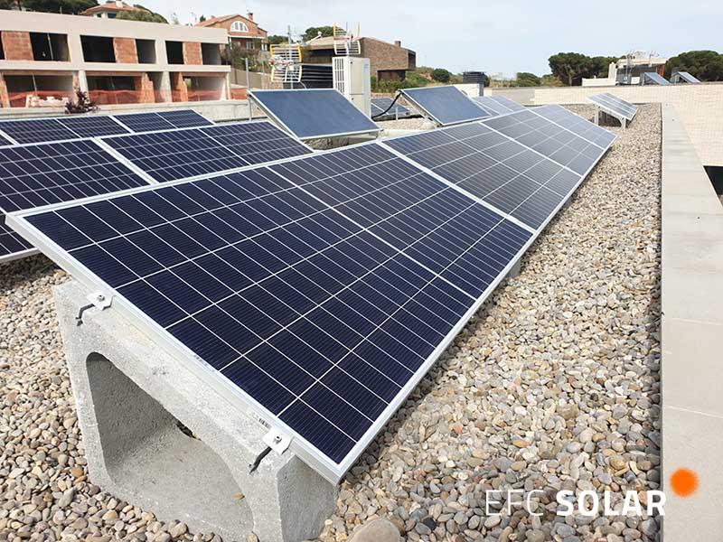 instalacion de paneles solares en mataro barcelona