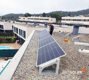 instalacion paneles solares en mataro barcelona