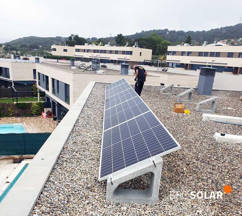 instal·lació de plaques solars a mataró barcelona