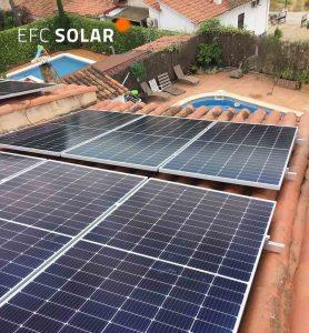 paneles solares en palau solita i plegamans barcelona efc