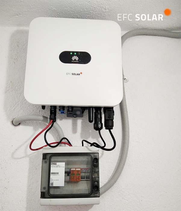 inversor placas solares en sant cugat efc solar