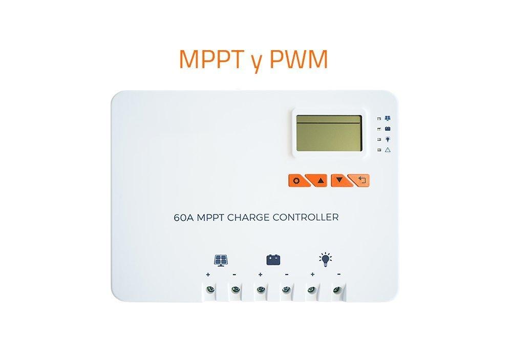regulador de carga solar MPPT PWM