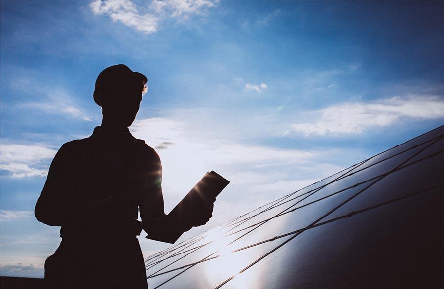 sombras en los paneles solares optimizadores