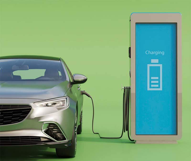 carga de coches electricos con energia solar y paneles solares