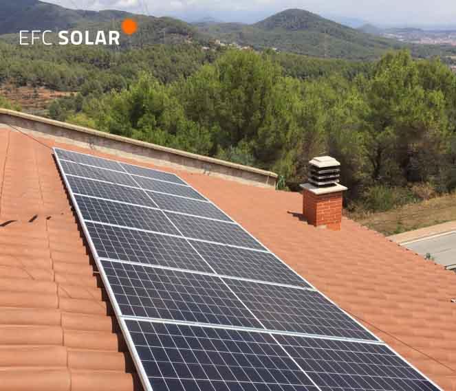 instal·lació de plaques solars a castellar del Vallès