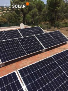 instal·lació de plaques solars a calonge girona