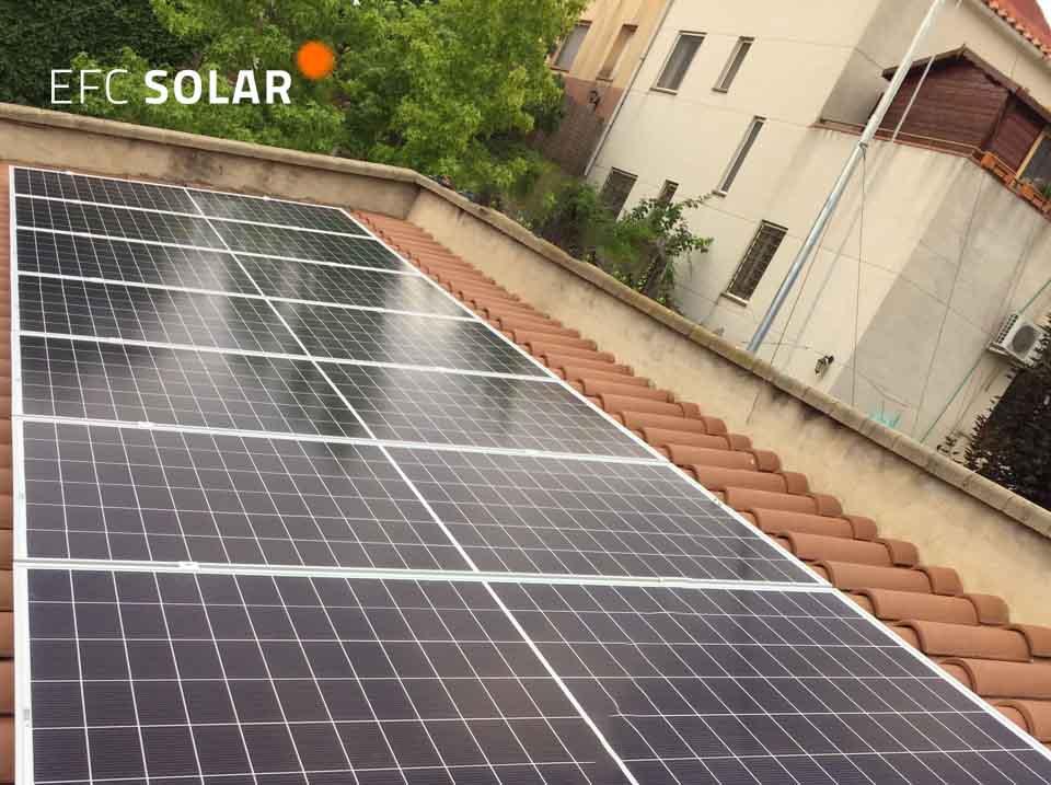 plaques solars a castellar del Vallès