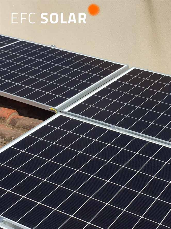 plaques solars sant just desvern barcelona efc solar