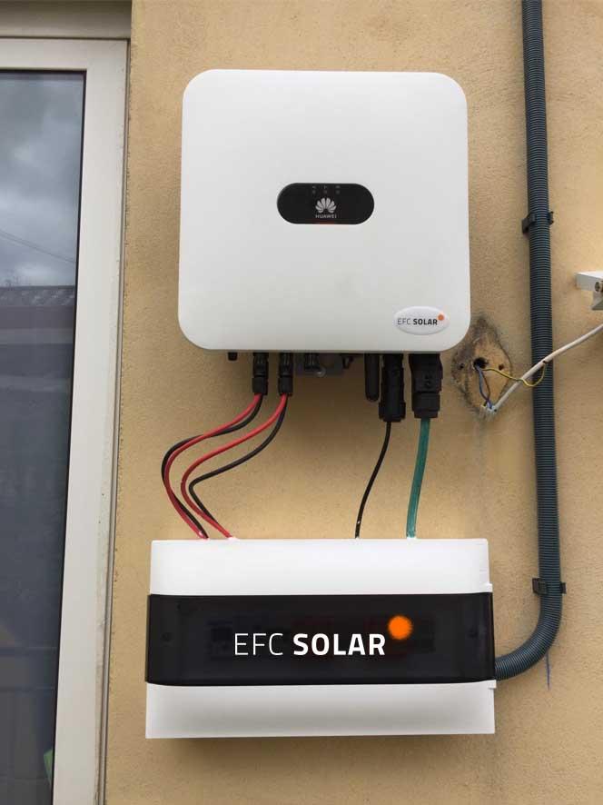 Instalación de inversor y placas solares en Abrera - Barcelona -