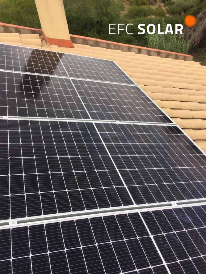 Instalación tejado placas solares en Abrera - Barcelona -