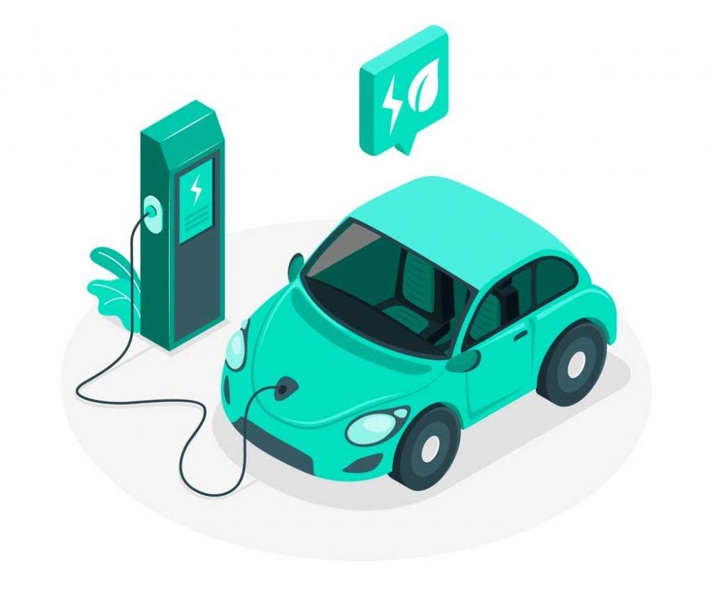 funcionamiento de un cargador de coche electrico
