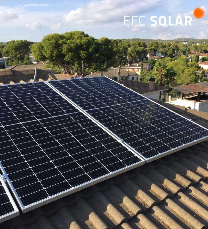 instalacion de placa solars a cunit tarragona