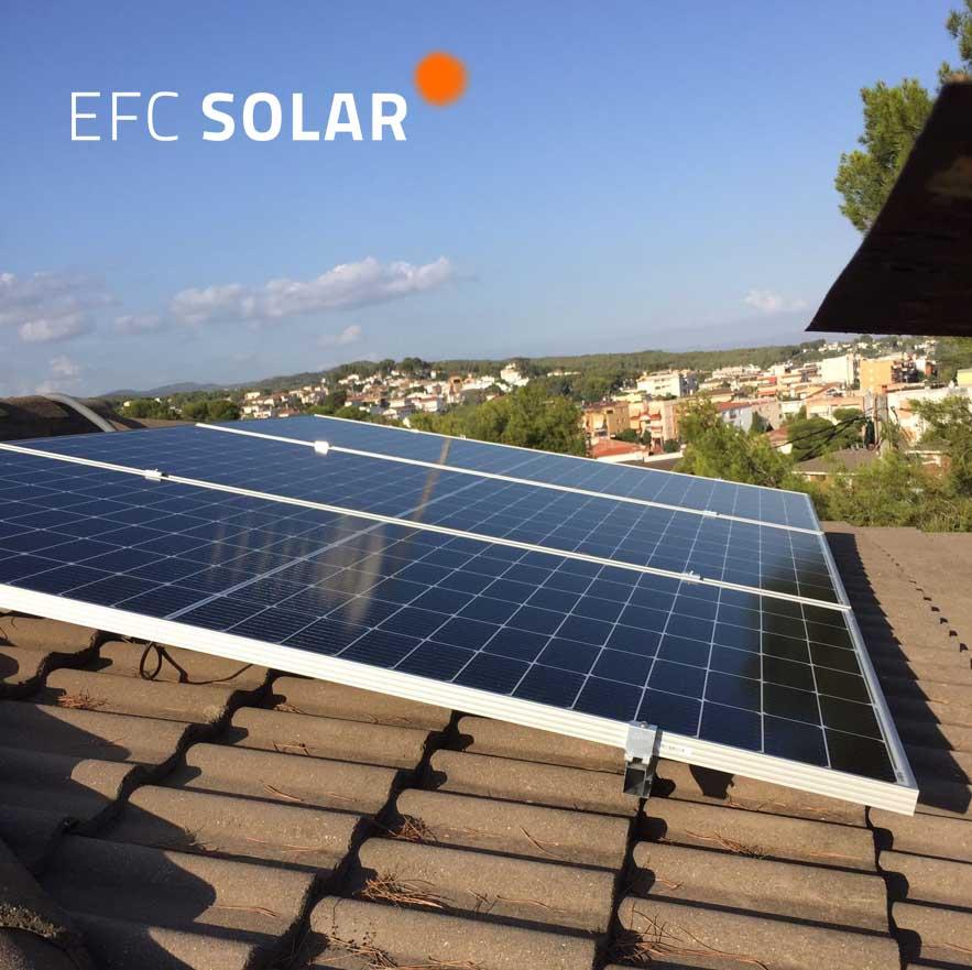 instalacion de plaques solars a cunit - tarragona