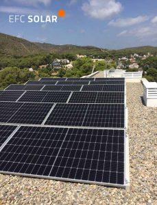 paneles solares a castelldefels barcelona energia solar