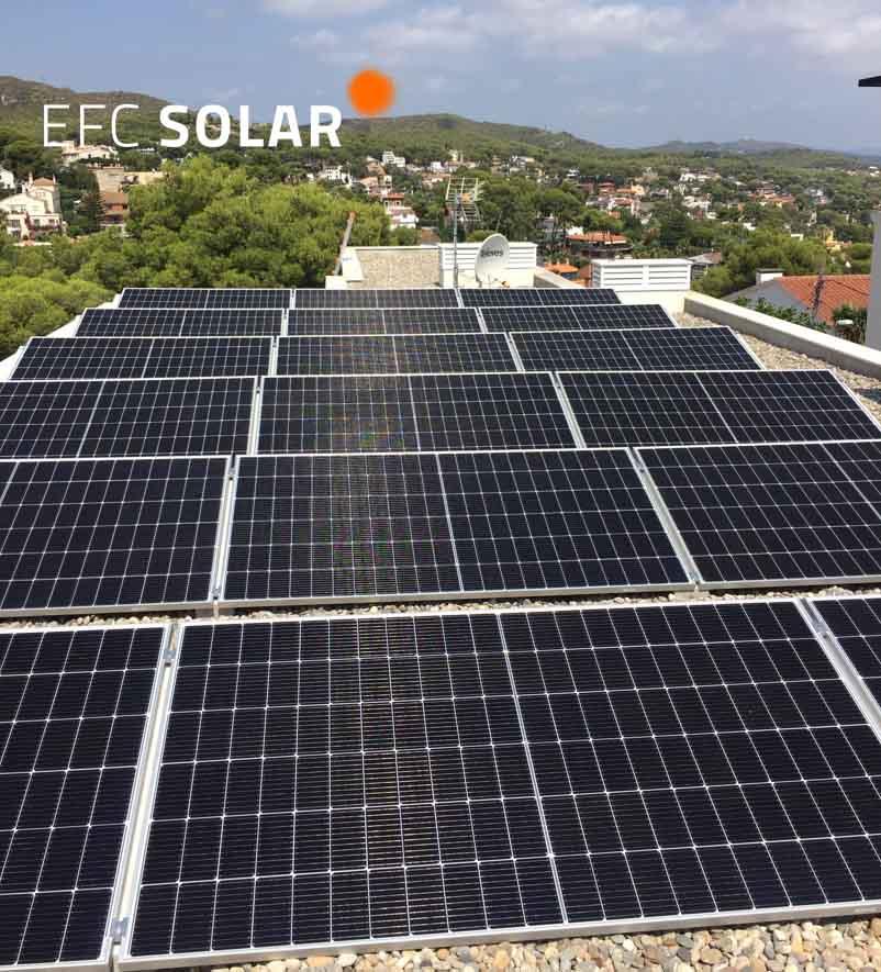 plaques solars a castelldefels energia solar barcelona