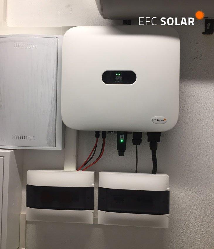 plaques solars a castelldefels inversor energia solar