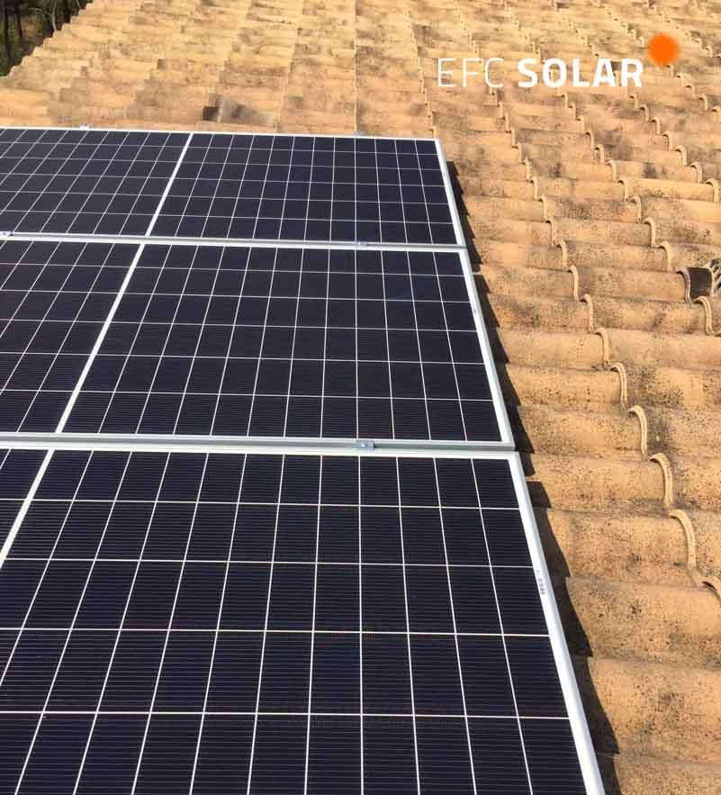 instalacion de paneles solares en Castellar del Valles - Barcelona