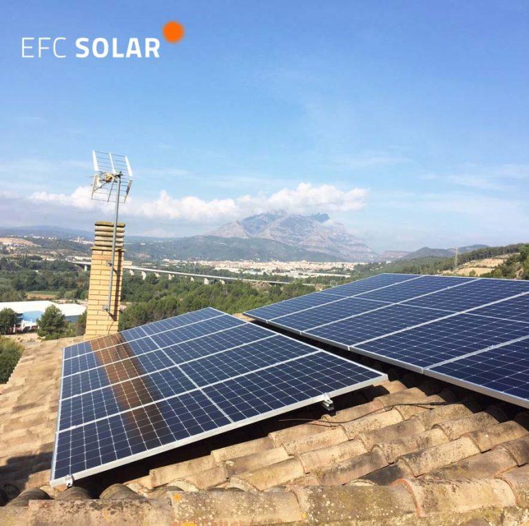 instal·lació de plaques solars a Abrera barcelona energia solar