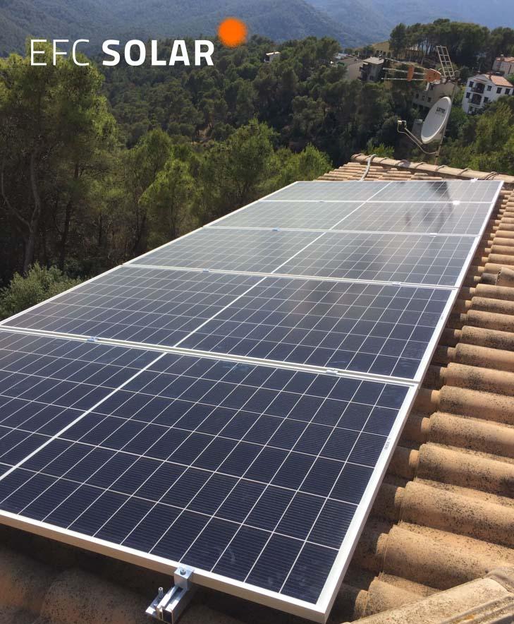 instalacio de plaques solars a Castellar del Valles Barcelona