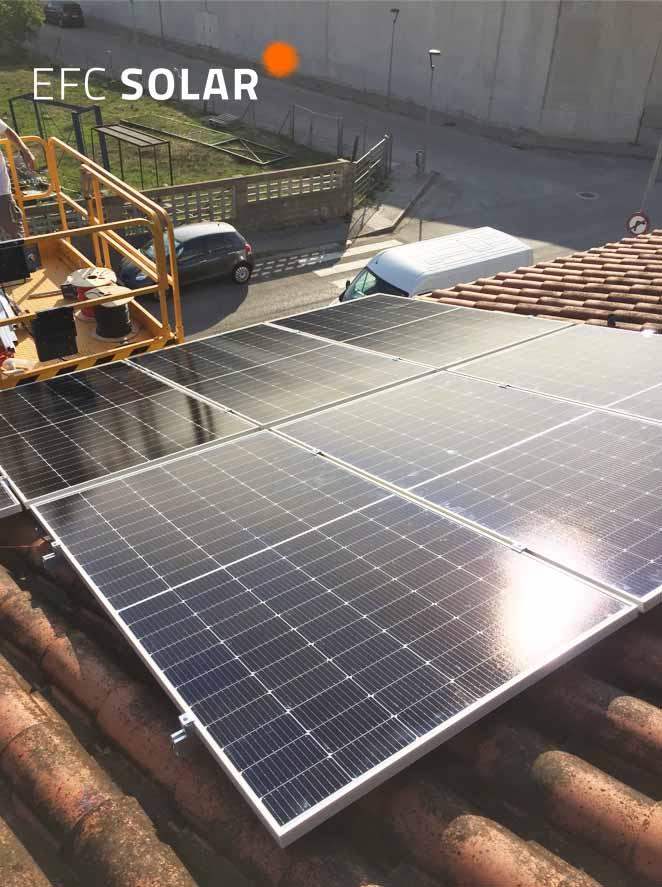 instal·lació de plaques solars vilablareix girona