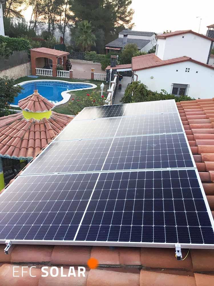 panells solars gelida energia solar